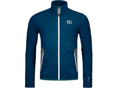 Ortovox Merino Fleece Jacket M petrol blue