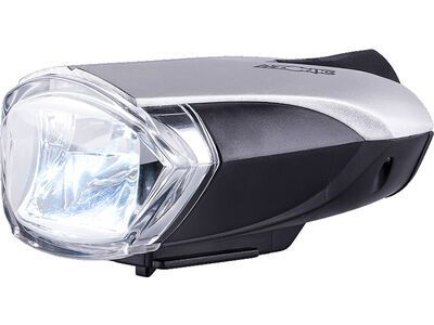 Azonic Bongo LED Frontlicht Battery - StVZO black/silver