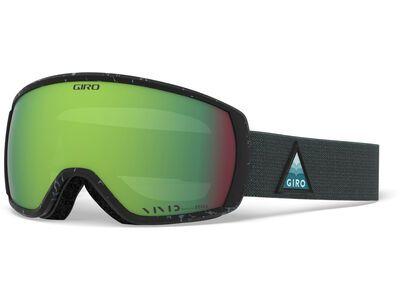 Giro Facet, teal arrow mtn/Lens: vivid emerald - Skibrille
