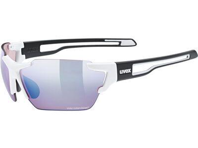 uvex sportstyle 803 cv Colorvision Litemirror Amber white black mat