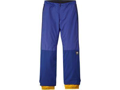 Adidas Riding Pant, blue/gold
