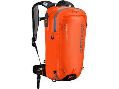 Ortovox Ascent 22 Avabag Kit, ohne Kartusche, desert orange - Lawinenrucksack