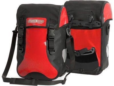 Ortlieb Sport-Packer Classic (Paar), rot-schwarz - Fahrradtasche
