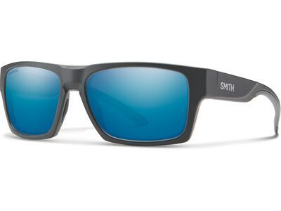 Smith Outlier 2, mat charcoal/Lens: cp polarized blue mir - Sonnenbrille