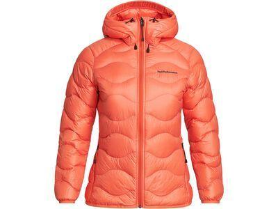 Peak Performance W Helium Hood Jacket zeal orange