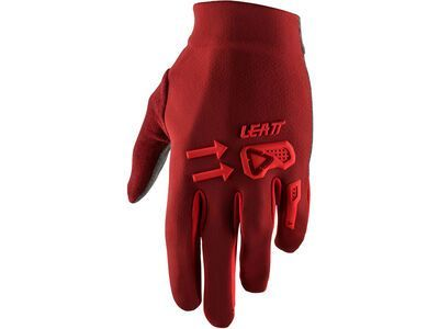 Leatt DBX 2.0 Windblock ruby