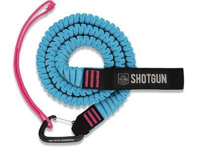 Shotgun MTB Tow Rope Abschleppseil pink/schwarz/türkis
