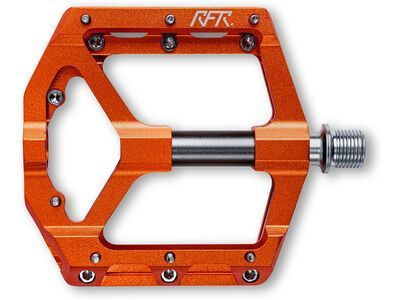 Cube RFR Pedale Flat SLT 2.0, orange´n´grey