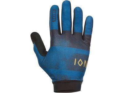 ION Gloves Scrub, ocean blue - Fahrradhandschuhe