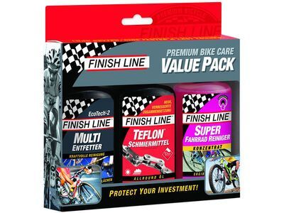 Finish Line Premium Bike Care Value Pack - Reinigungsset