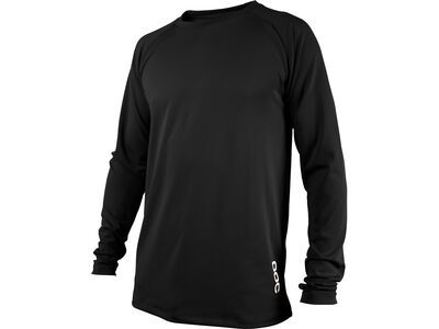 POC Essential DH LS Jersey carbon black