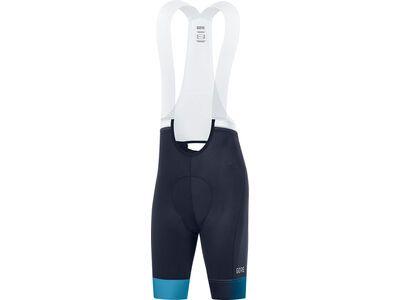 Gore Wear Ardent Damen kurze Trägerhose+ orbit blue/scuba blue