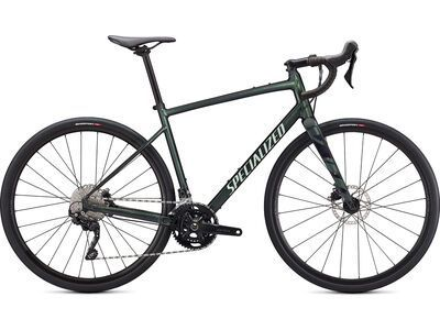 Specialized Diverge Elite E5 gloss oak metallic green/spruce/chrome/wild ferns 2021