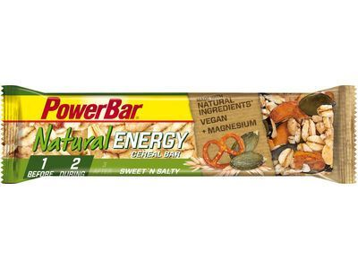 PowerBar Natural Energy Cereal (Vegan) - Sweet'n Salty - Energieriegel