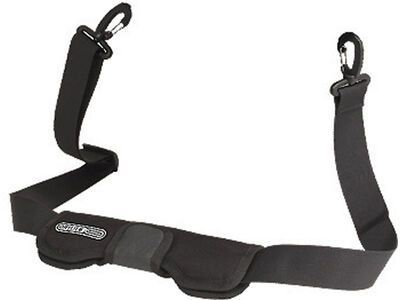 Ortlieb Shoulder Strap with Carabiners (110 cm) - Tragegurt (E33), black