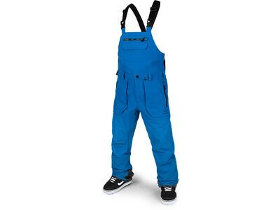 Volcom Rain Gore Bib Overall, cyan blue