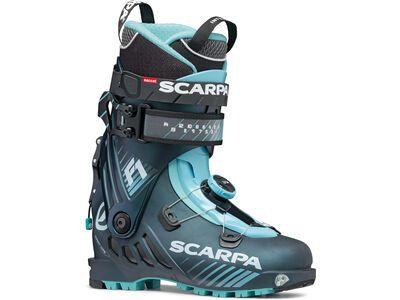 Scarpa F1 Wmn 2021, anthracite/aqua - Skiboots