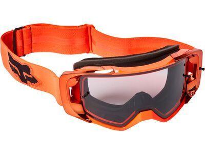 Fox Vue Stray Goggle - Dark Grey fluorescent orange
