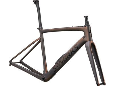 Specialized S-Works Diverge Frameset satin carbon/color run pearl/chrome/clean 2021