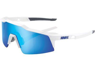 100% Speedcraft XS - Blue ML Mir matte white