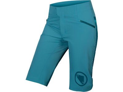 Endura Wms SingleTrack Lite Short - Standard Fit kingfisher