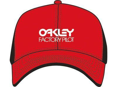 Oakley Factory Pilot Trucker Hat red line