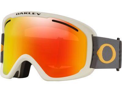 Oakley O Frame 2.0 Pro XL + WS, dark grey orange/Lens: fire iridium - Skibrille