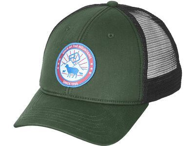 Ortovox Stay In Sheep Trucker Cap green forest