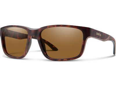Smith Basecamp Chromapop Polarized Brown matte tortoise