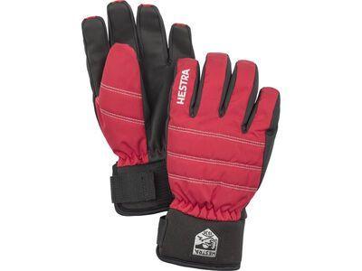 Hestra CZone Primaloft Jr. 5 Finger, rot - Skihandschuhe