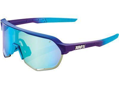 100% S2 - Blue Topaz ML Mir matte metallic into the fade