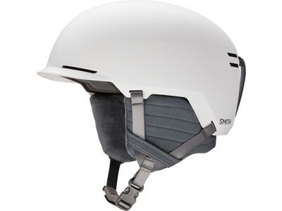 Smith Scout, matte white - Snowboardhelm