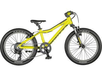 Scott Scale 20 radium yellow/black 2021