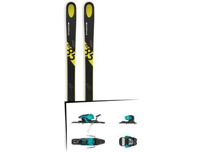 Set: Kästle FX85 HP 2019 + Salomon Warden 11 turquoise/black