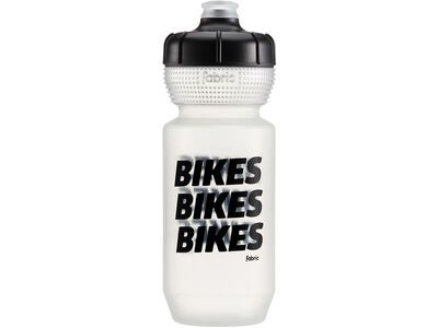 Fabric Gripper Bottle Bikes Bikes Bikes 600 ml, clear/black - Trinkflasche
