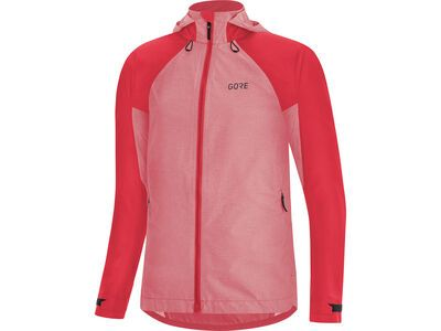 Gore Wear C5 Damen Gore-Tex Trail Kapuzenjacke, pink - Radjacke