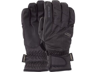 POW Gloves Warner Gore-Tex Short Glove, black - Snowboardhandschuhe