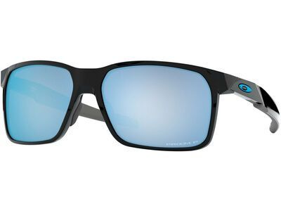 Oakley Portal X Prizm Deep Water Polarized, polished black - Sonnenbrille