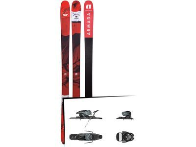 Set: Armada Tracer 88 2019 + Salomon Warden 11 dark grey/black