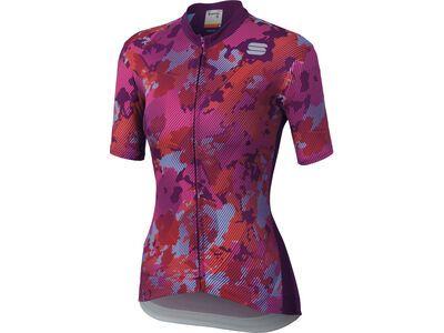 Sportful Loto Jersey, victorian/purple - Radtrikot