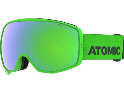 Atomic Count Stereo, green/Lens: green - Skibrille