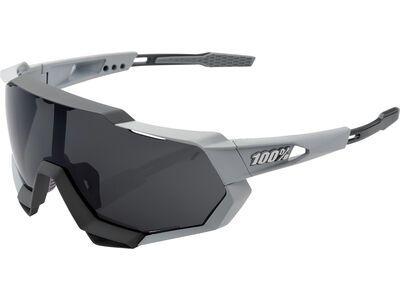 100% Speedtrap - Smoke soft tact stone grey