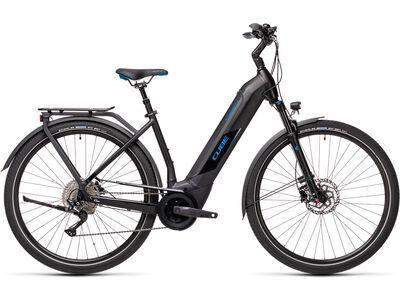 Cube Kathmandu Hybrid Pro 500 Easy Entry 2021, black´n´blue - E-Bike