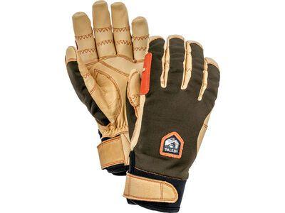 Hestra Ergo Grip Active 5 Finger, dark forest/natural brown - Skihandschuhe