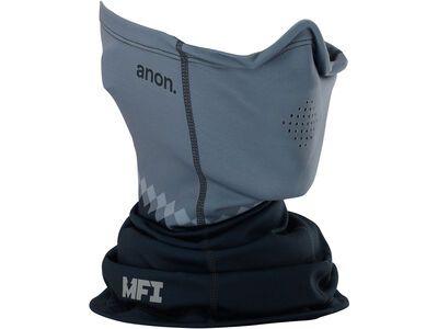 Anon Men's MFI Midweight Neck Warmer, gray - Nackenwärmer