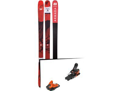 Set: Armada Tracer 88 2019 + Salomon STH2 WTR 13 orange/black