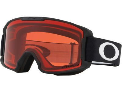 Oakley Line Miner Youth Prizm, matte black/Lens: rose iridium - Skibrille