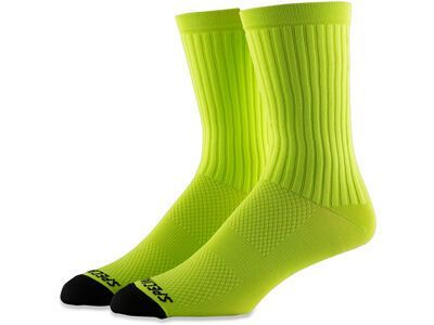 Specialized Hydrogen Aero Tall Sock, hyper green - Radsocken
