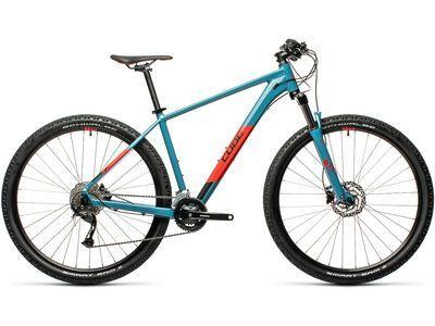 Cube Aim EX 27.5 2021, blue´n´red - Mountainbike
