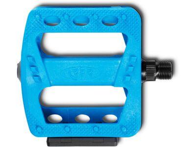Cube RFR Pedale Flat HQP CMPT, blue